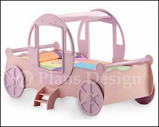 Princess Twin Bed Plans