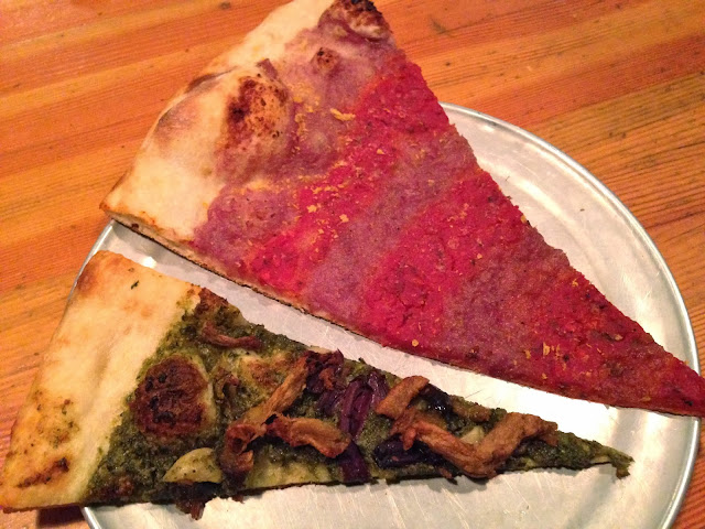 Spiral Tap & New Maps Out of Hell Vegan Pizza - Sizzle Pie