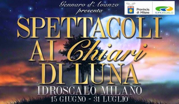 Spettacoli ai Chiari di luna all'Idroscalo di Milano, dal 15 giugno al 31 luglio
