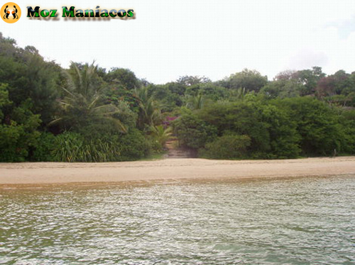Uma das entradas da ilha de Inhaca