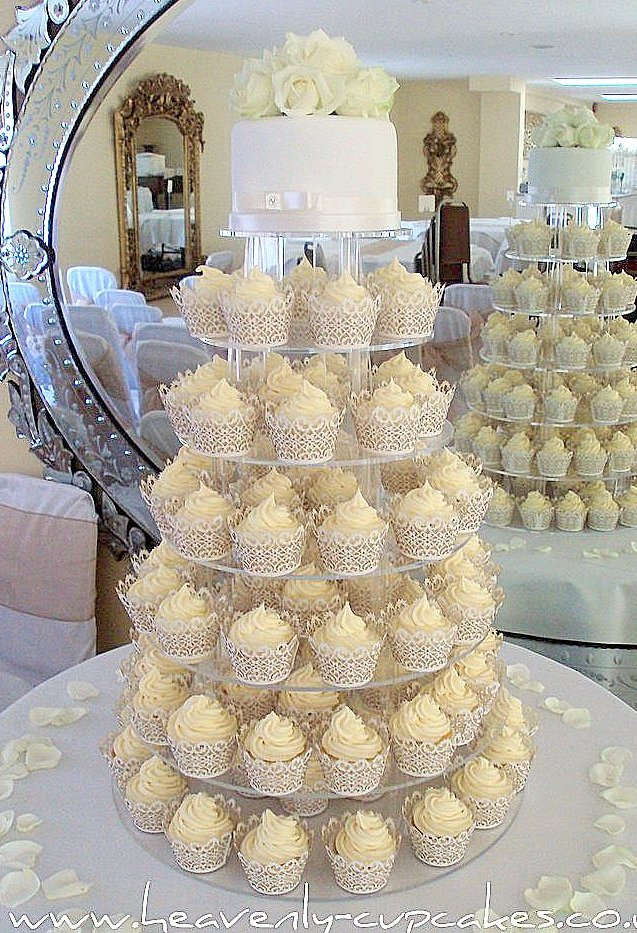 Cupcake Design For Wedding : Cupcake Decorations For Weddings Living Room Interior ...