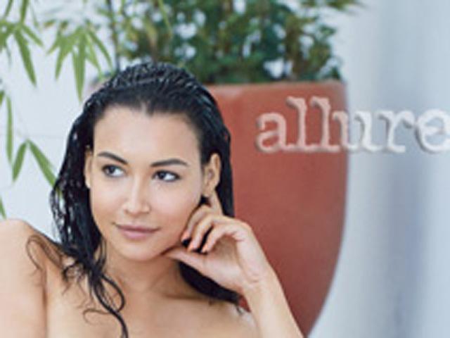 Hispanic New York Naya Rivera Strips Down For Allure