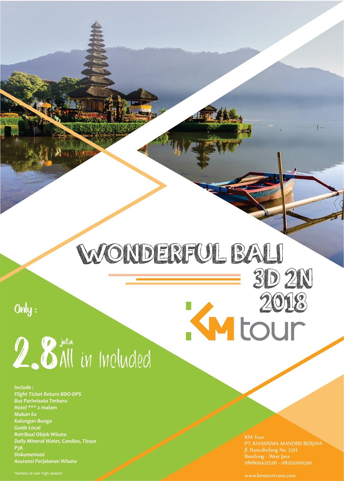 Promo Bali 2018