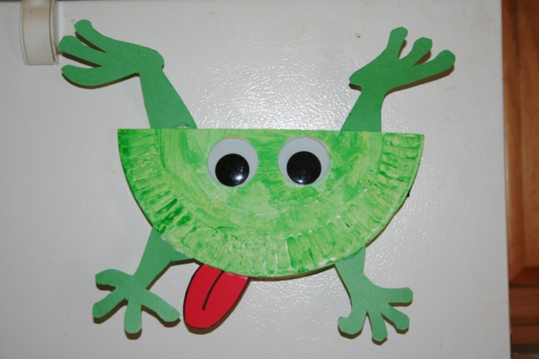 jumping frog creative learning ForFrog Crafts For Preschoolers