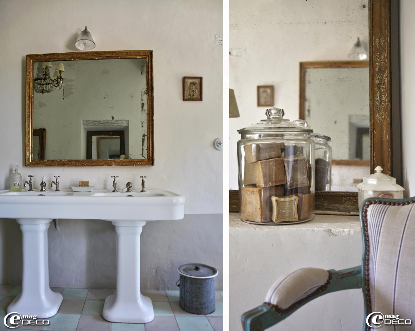 Vasque retro salle de bain: mitigeur pour vasque / en chrome trou ...