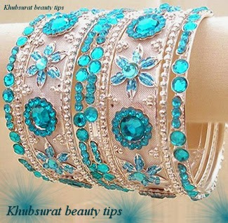Fancy bangles for brides 2014