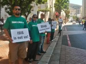 Muslim Afsel Gelar Aksi Damai Menentang ISIS