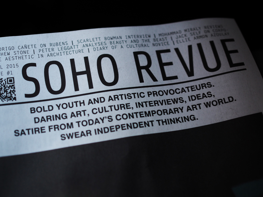 Soho Revue Nothing Perishes launch India Rose James