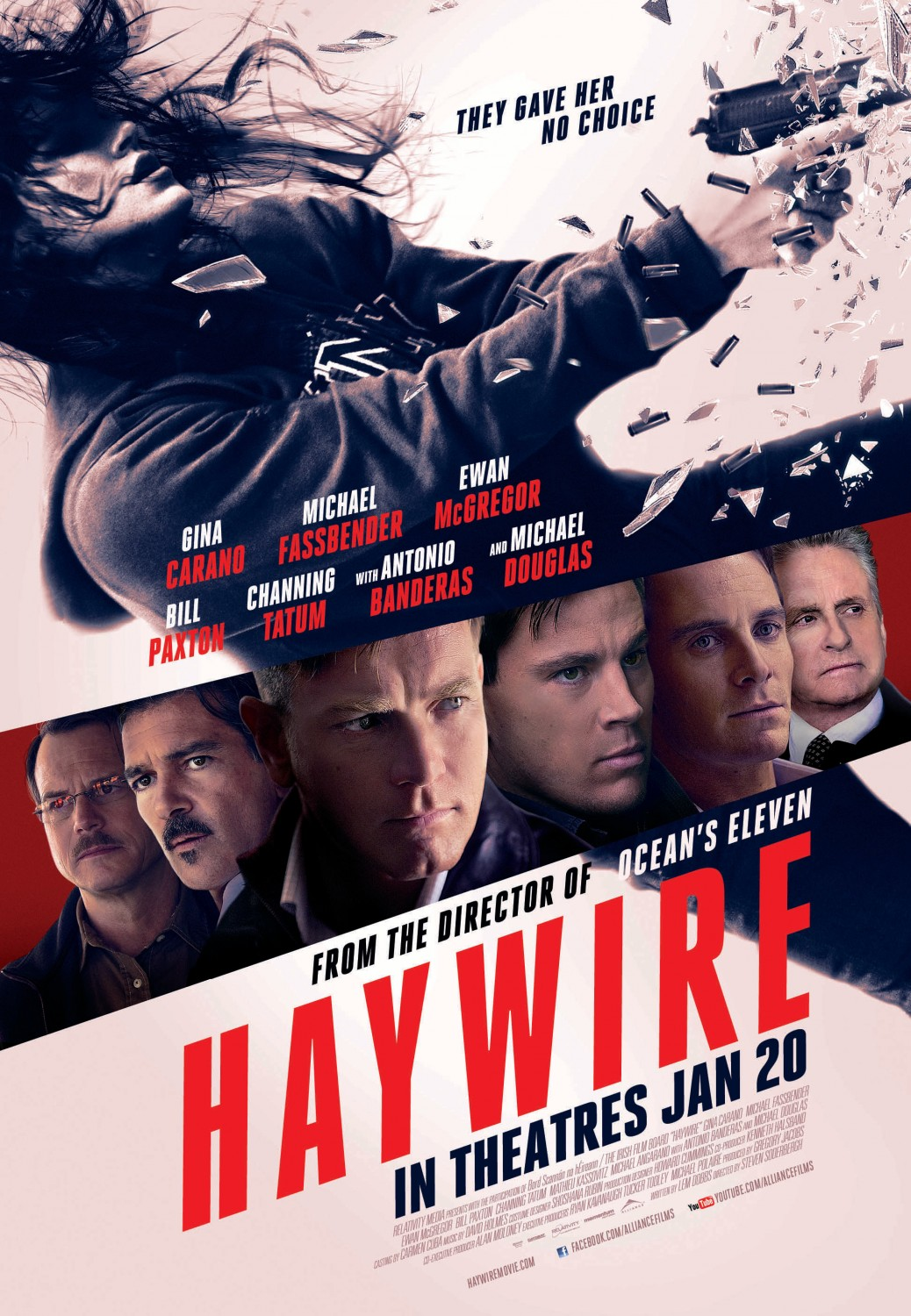 Haywire (2011) Poster
