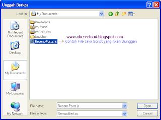 Proses Pencarian File Java Script