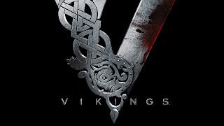 Vikings Tv Series Bloody Metal Logo HD Wallpaper