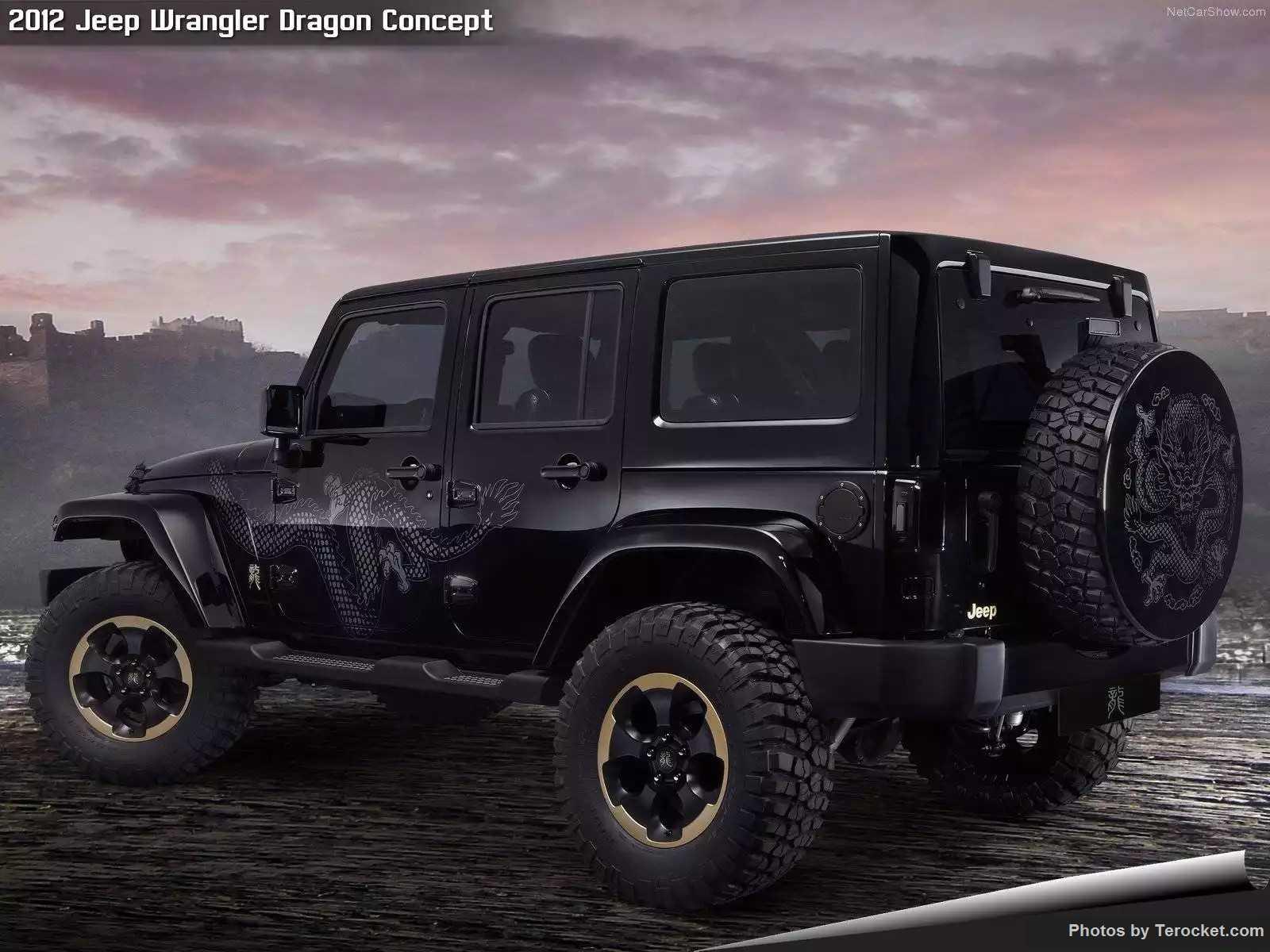 Hình ảnh xe ô tô Jeep Wrangler Dragon Concept 2012 & nội ngoại thất