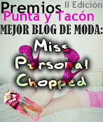 ELEGIDA COMO MEJOR BLOG DE MODA 2011 :: PREMIOS PUNTA Y TACON