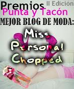 ELEGIDA COMO MEJOR BLOG DE MODA 2011 :: PREMIOS PUNTA Y TACON