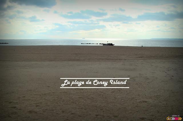 Coney Island - plage de New York