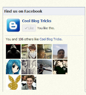 How To Add Facebook Like Box To Blogger
