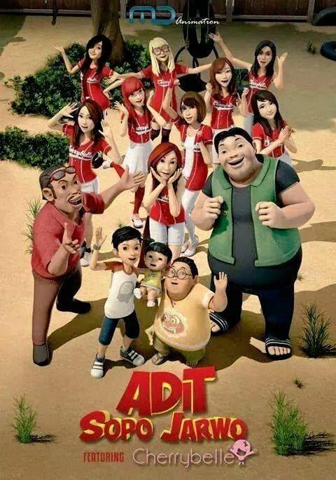 Adit, Sopo dan Jarwo featuring Cherrybelle