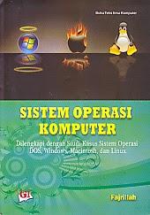 toko buku rahma: buku SISTEM OPERASI KOMPUTER, pengarang fajrillah, penerbit ghalia indonesia