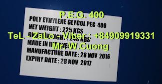 Polyethylen glycol PEG 400