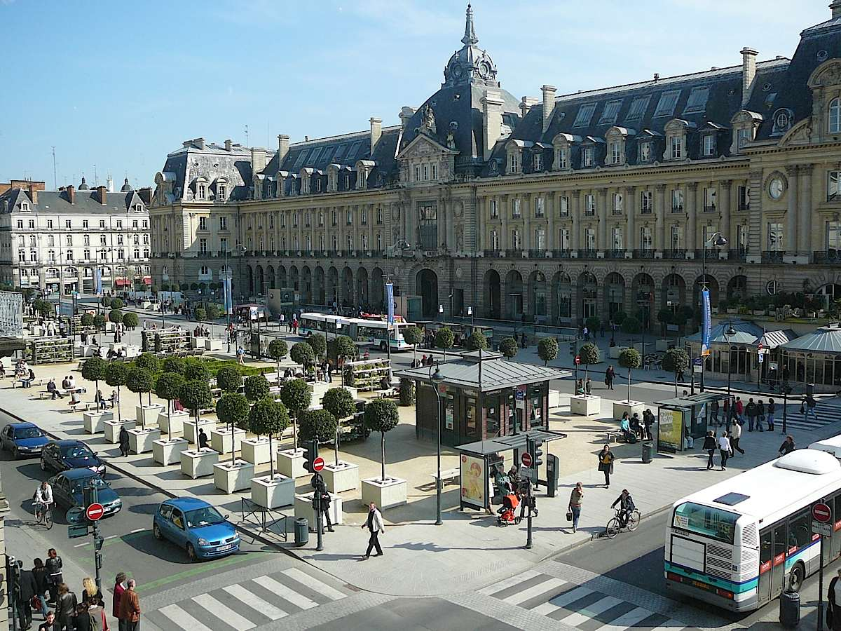Top World Travel Destinations Rennes France