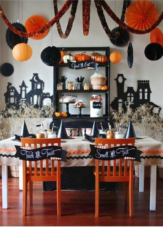 halloween ideeën huis versieren