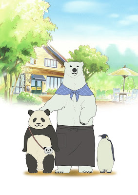 shirokuma cafe anime seiyuus cast abril