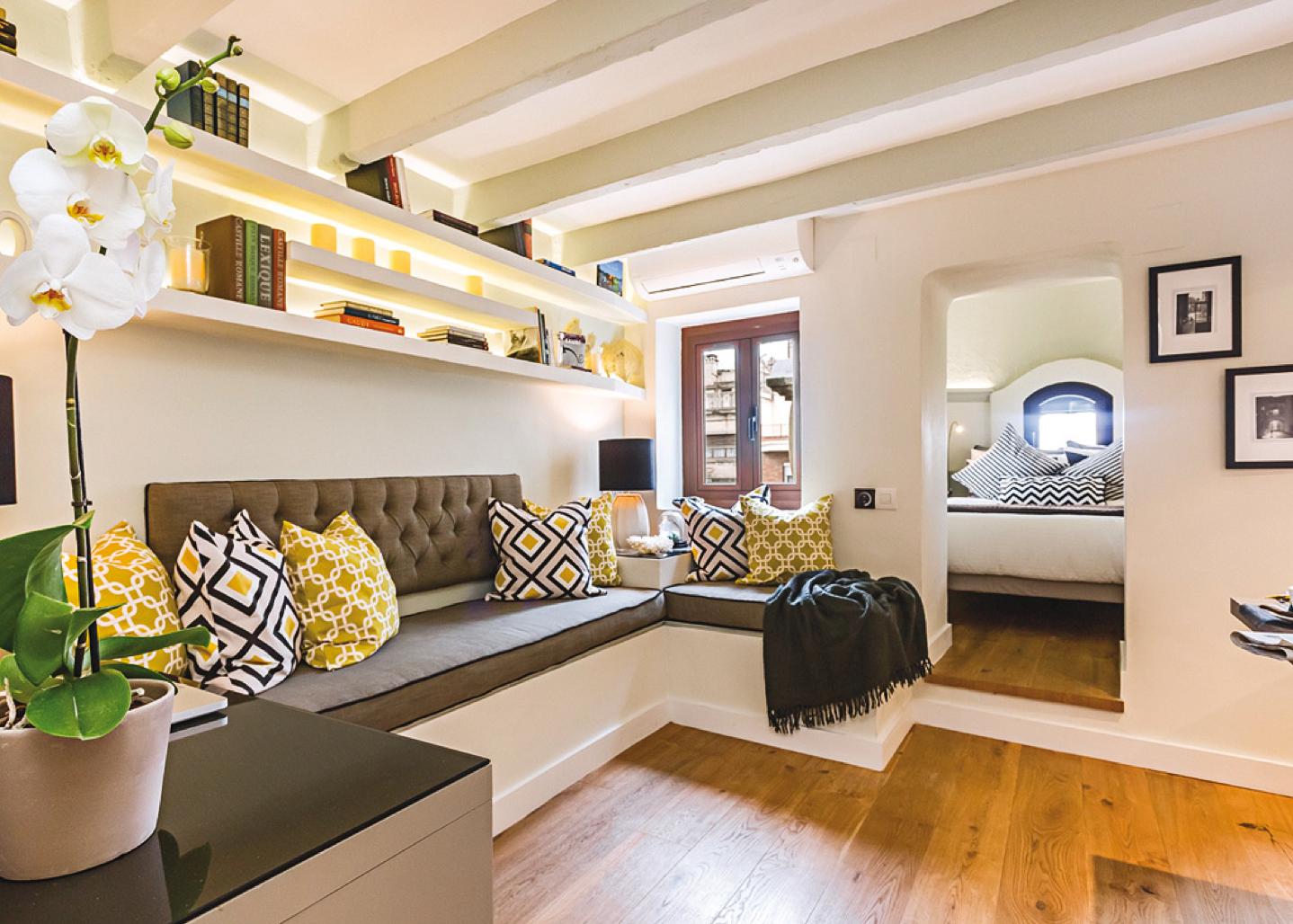 Boiserie c vivere meravigliosamente in 20 metri quadrati - Calcolare i metri quadri di una casa ...
