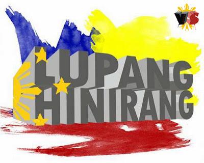 Lupang Hinirang art work