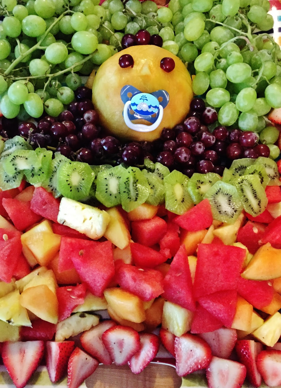 Superb Fruit Platter For Baby Shower Part   11: Kimberlys Chronicle How To  Plan A
