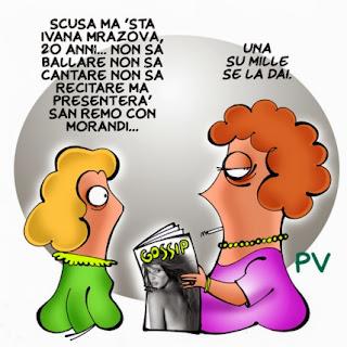 Una vignetta di pv