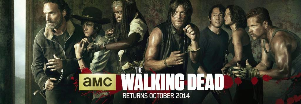 The Walking Dead poster season five para la Comic Con de San Diego 2014