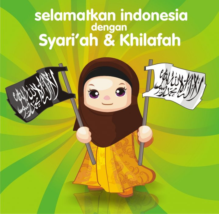 Gambar Kartun Muslimah Cantik Berhijab Animasi Bergerak Akhwat Ideologis Gak