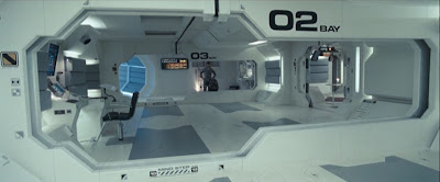 living module in space