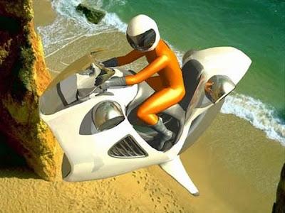 Intip 5 Desain Motor Terbang di Masa Depan