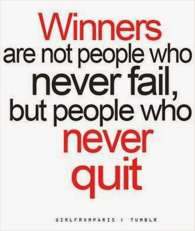 Never Quit!