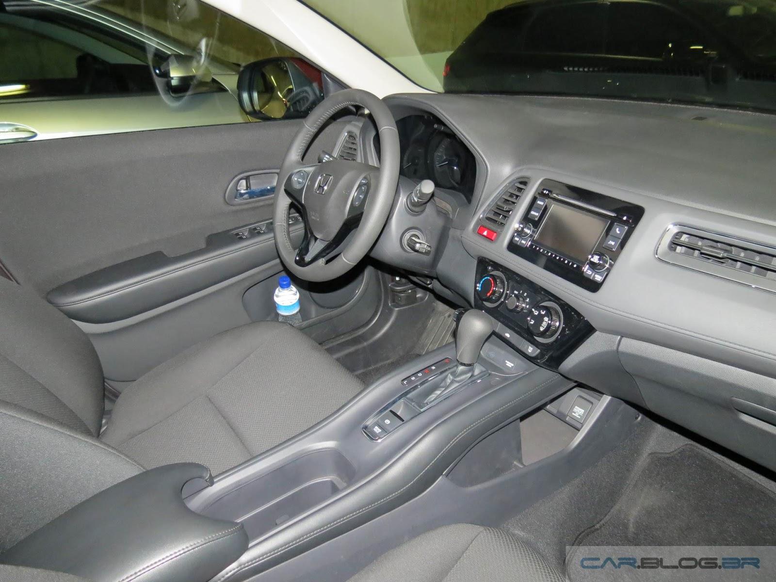 Honda hr v ex vers o intermedi ria v deo e detalhes for Honda hr v interieur