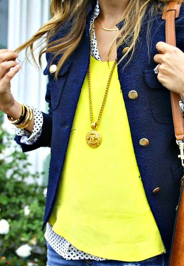yellow spring fashion