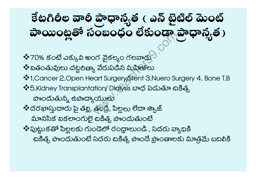A.P Teachers transfers entitlement points in telugu7