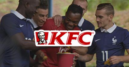KFC activa su patrocinio con la Selección de Francia