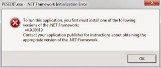 Microsoft .NET Framework v4.0.30319.1 Offline