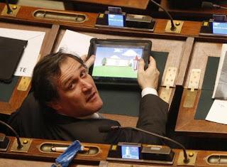beccato ... Parlamentari italiani