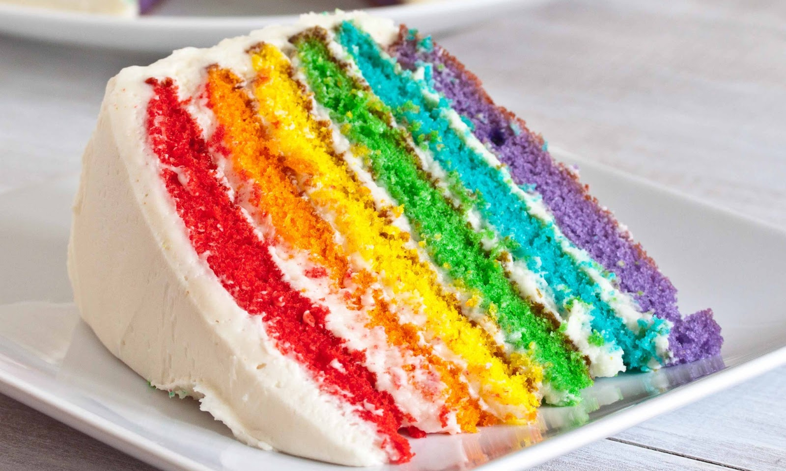 Rainbow Cake Recipe With Pictures