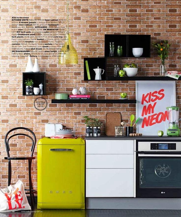 Unconventional Kitchen Cabinets