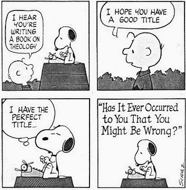 Snoopy on Theology.