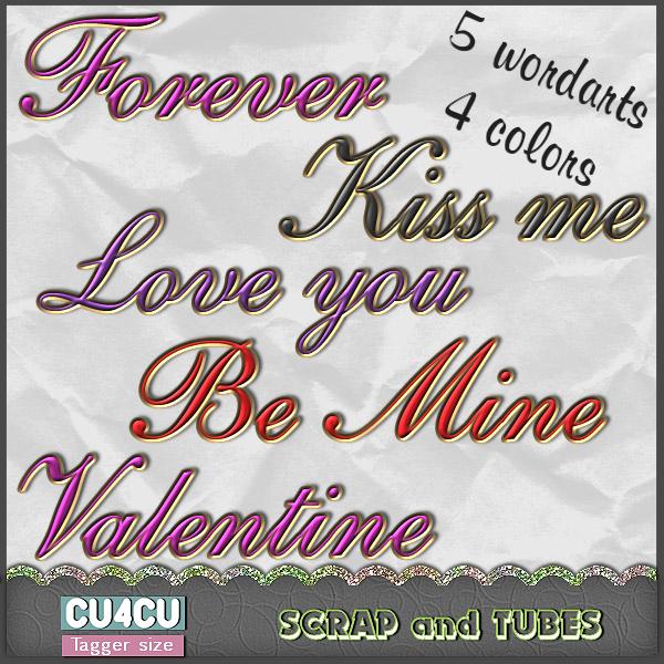 Love Wordart (TS/CU4CU) .Love+Wordart_Preview_Scrap+and+Tubes