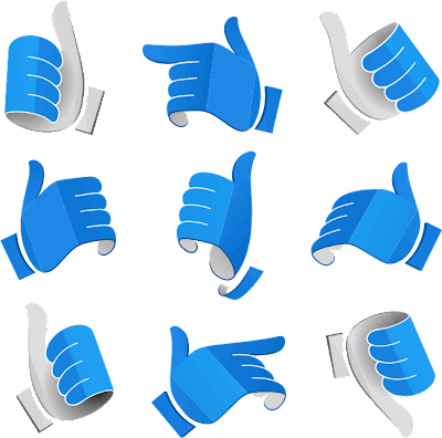 OK Hands Sign Vector