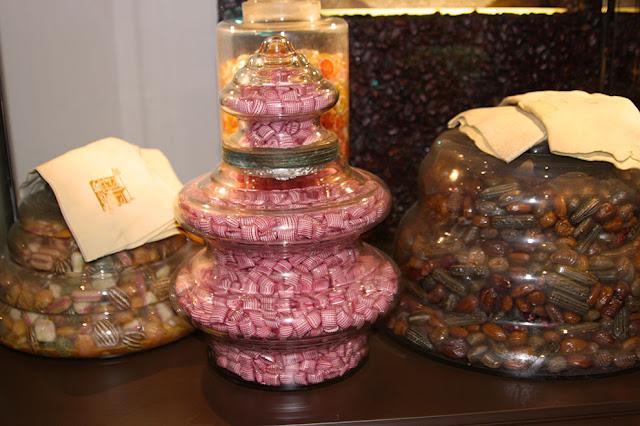 шоколадный музей Laima, карамель