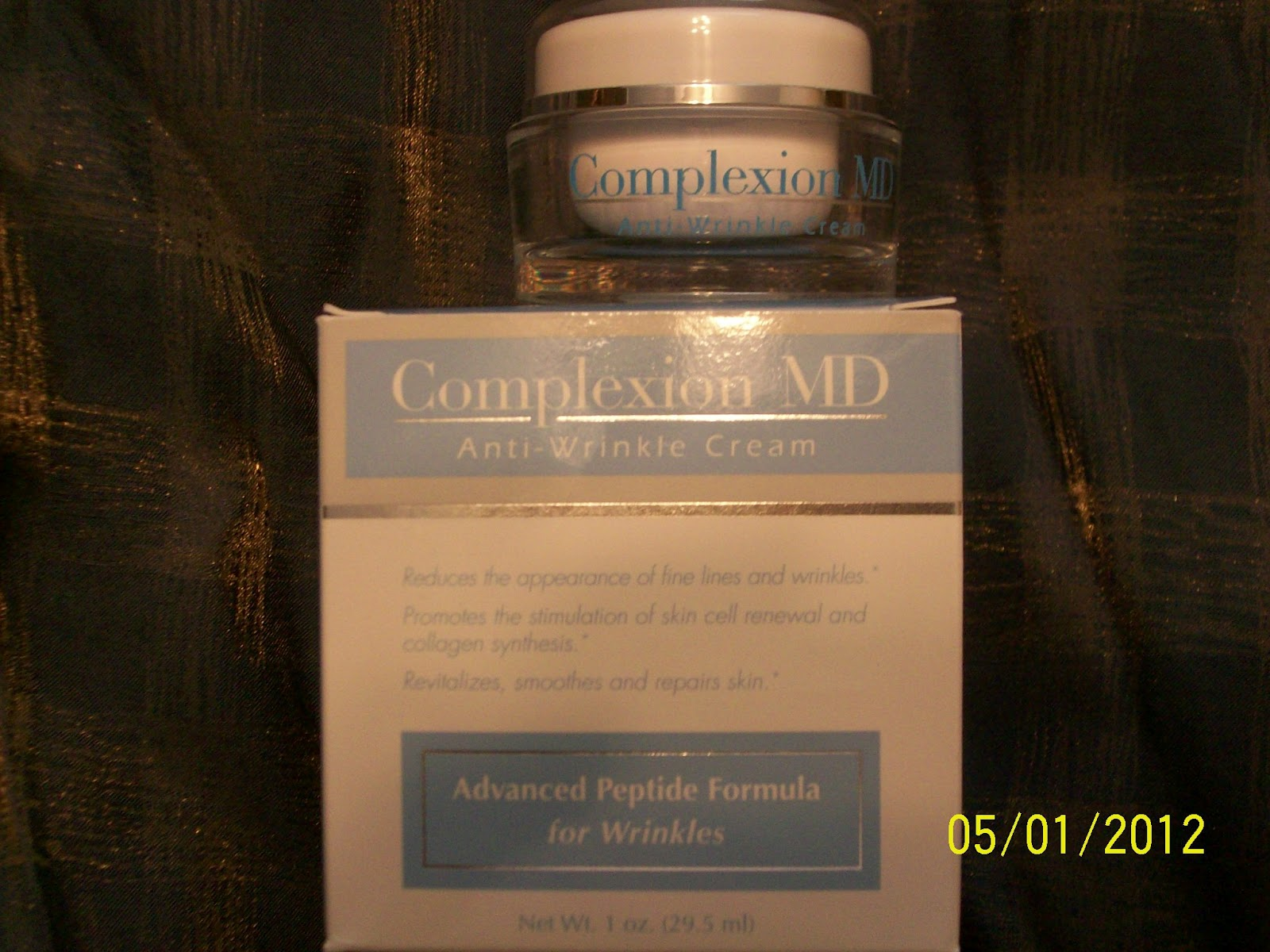 PRODUCT REVIEW: Complexion MD Anti-Wrinkle Cream