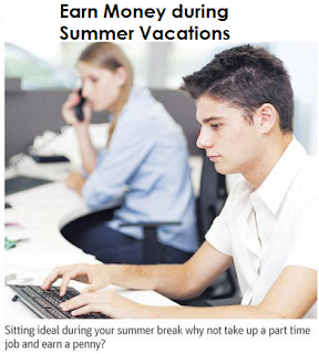 Part Time: How to Earn Money During Summer Holidays Vacations