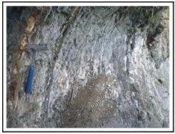 Singkapan Batulempung Selang-Seling  Batupasir.